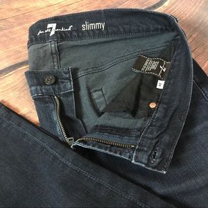 7 For All Mankind 'Slimmy' Women's Jeans Size 31